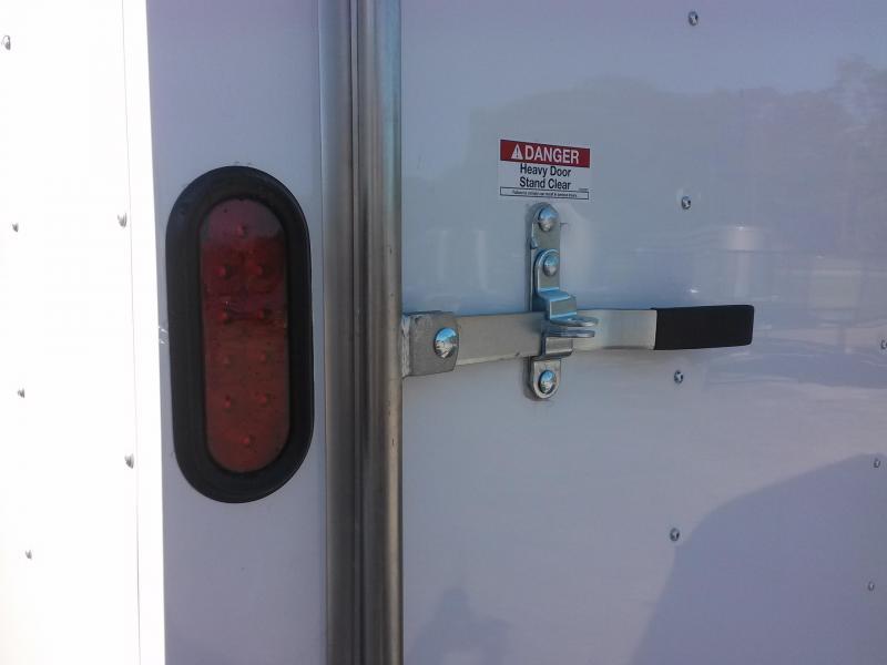 GANS8520TA2 CARGO MATE 8.5 X 20 ENCLOSED CAR HAULER W/ 3500# AXLES