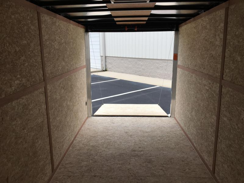 FT7162 WELLS CARGO 7 X 16 ENCLOSED CARGO TRAILER W/ 7' INTERIOR HEIGHT