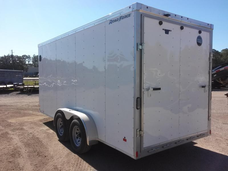 RFV7X162 WELLS CARGO 7X16 ROAD FORCE ENCLOSED CARGO TRAILER W/ CUSTOM OPTIONS