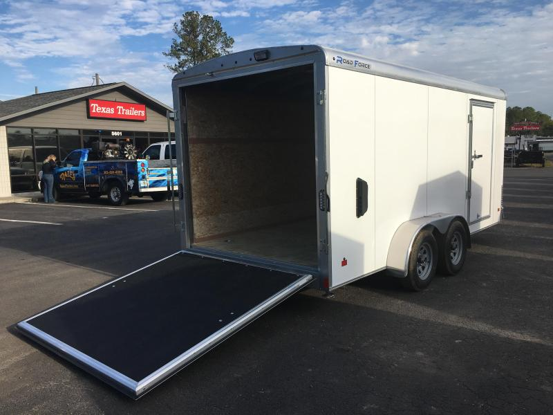 RFLS7X162 WELLS CARGO 7X16 ROAD FORCE ENCLOSED CARGO TRAILER W/ CABLE-LESS RAMP DOOR  in Ashburn, VA