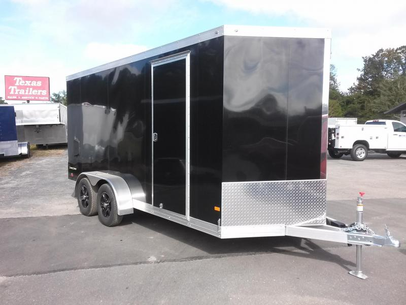 WAUV7X1622 WELLS CARGO 7X16 SILVER SPORT ALUMINUM ENCLOSED CARGO TRAILER W/ CUSTOM OPTIONS in Ashburn, VA