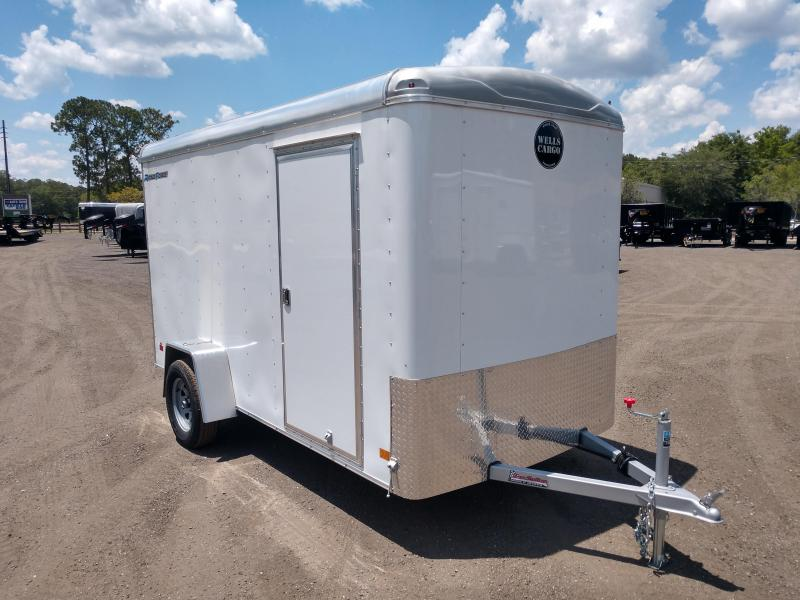 RF6X121 WELLS CARGO 6X12 ROAD FORCE ENCLOSED CARGO TRAILER