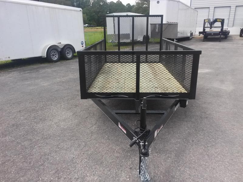 LM51035 TEXAS TRAILERS 5X10 LAWN MAINTENANCE TRAILER