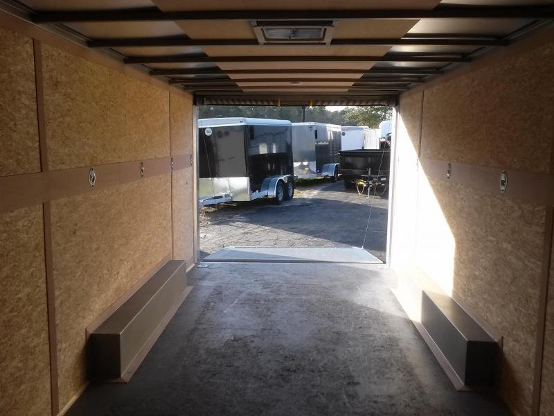 RFV85X204 WELLS CARGO 8.5X20 ROAD FORCE ENCLOSED CARGO TRAILER W/ CUSTOM OPTIONS