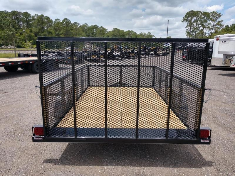 "LM61035 TEXAS TRAILERS 6'4"" X 12' LAWN MAINTENANCE TRAILER"