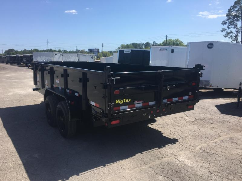 16LX-16 BIG TEX 7' X 16' DUMP TRAILER W/ 17500# GVWR