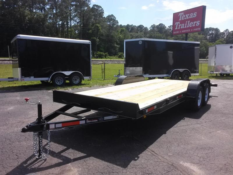 CH2010 TEXAS TRAILERS 20' CAR HAULER W/ SLIDE OUT RAMPS in Ashburn, VA