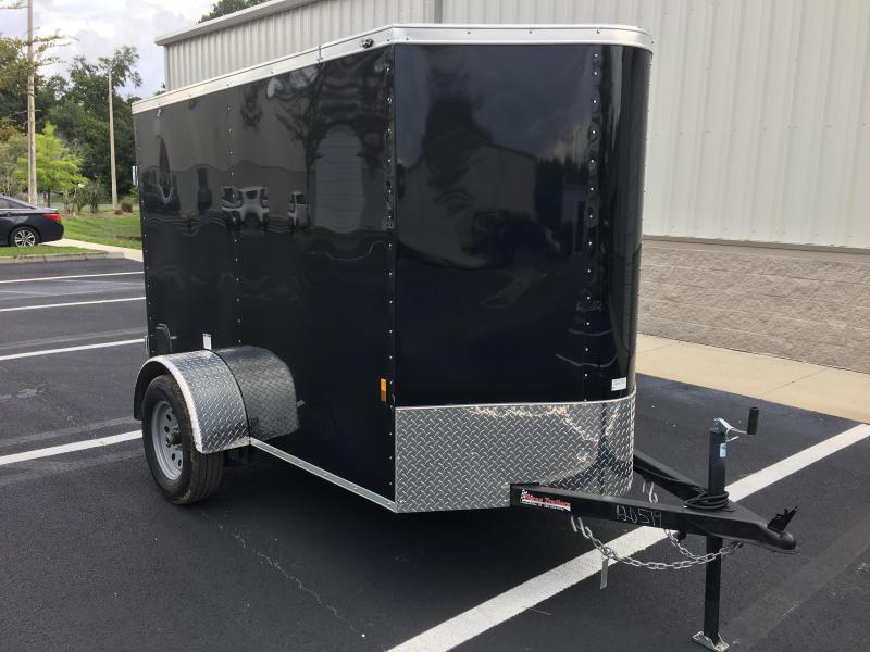 2018 CARGO MATE 5 X 8 CARGO TRAILER W/ DOUBLE DOORS