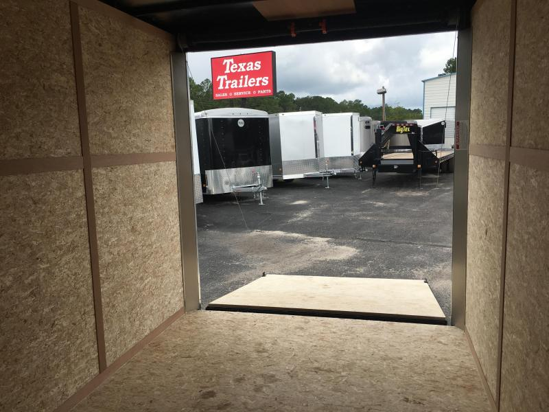 "FT7121 WELLS CARGO 7 X 12 ENCLOSED CARGO TRAILER W/ 12"" ADDITIONAL HEIGHT"