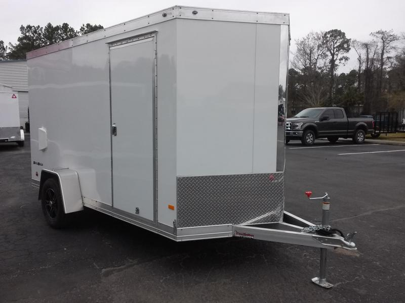 WAUV6X121 WELLS CARGO 6X12 SILVER SPORT ALUMINUM ENCLOSED CARGO TRAILER in Ashburn, VA