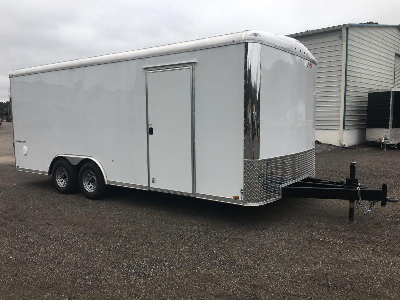 CS85X20TE3 PACE AMERICAN 8.5X20 ENCLOSED TRAILER W/ 5200# TORSION AXLES