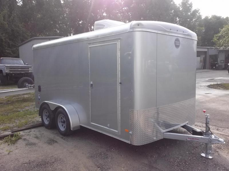 RF7X142 WELLS CARGO 7X14 ROAD FORCE ENCLOSED CARGO TRAILER W/ CUSTOM OPTIONS in Ashburn, VA