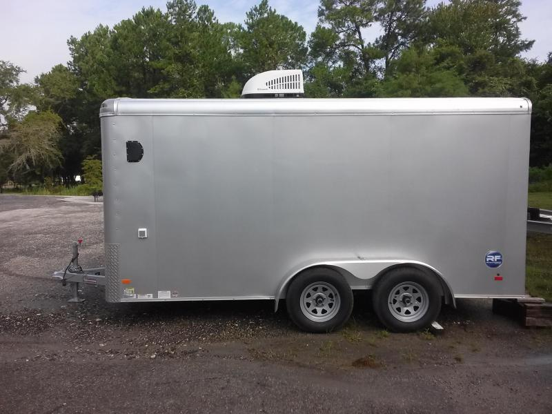 RF7X142 WELLS CARGO 7X14 ROAD FORCE ENCLOSED CARGO TRAILER W/ CUSTOM OPTIONS