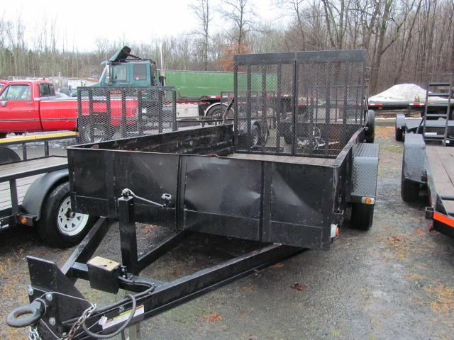 2016 Cross Country 7 X 12 10K Solid Side Utility Trailer