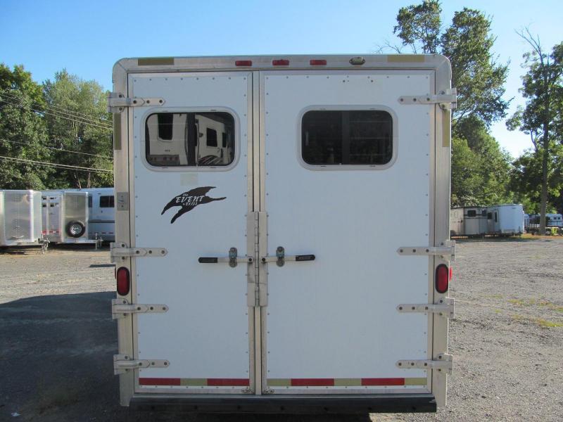 2002 Exiss XT300 3 Horse GN Horse Trailer