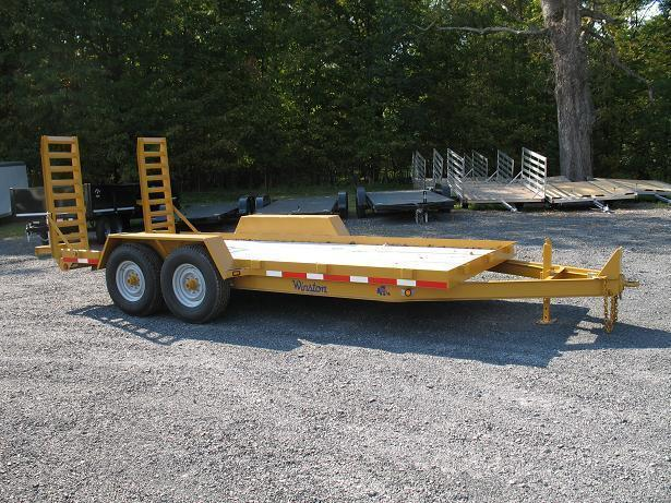 Sale! 2017 Winston 7 Ton 7 x 16 BW Equipment Trailers
