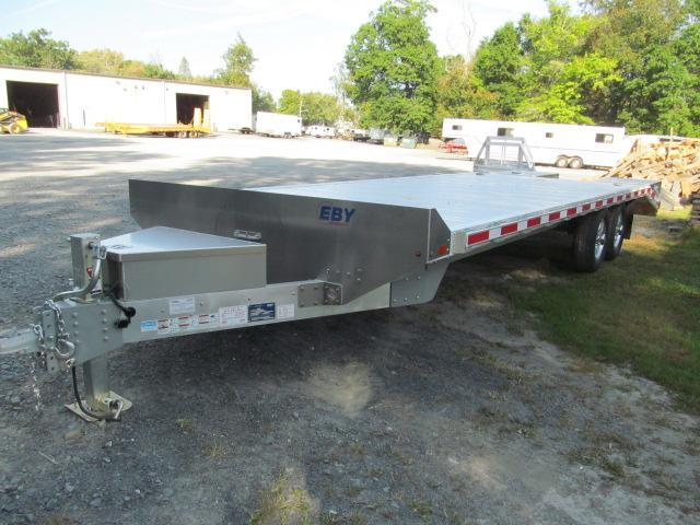 Eby Tradesman 24 Ft Flatbed Deckover Equipment Trailer