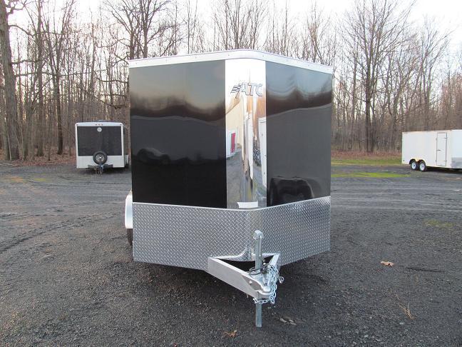 Aluminum Trailer Company Raven All Aluminum Double Axle Cargo / Enclosed Trailer