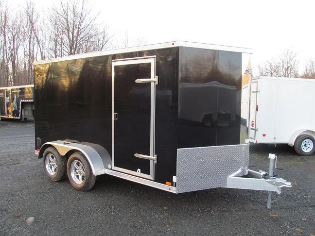 Aluminum Trailer Company Raven All Aluminum Double Axle Cargo / Enclosed Trailer