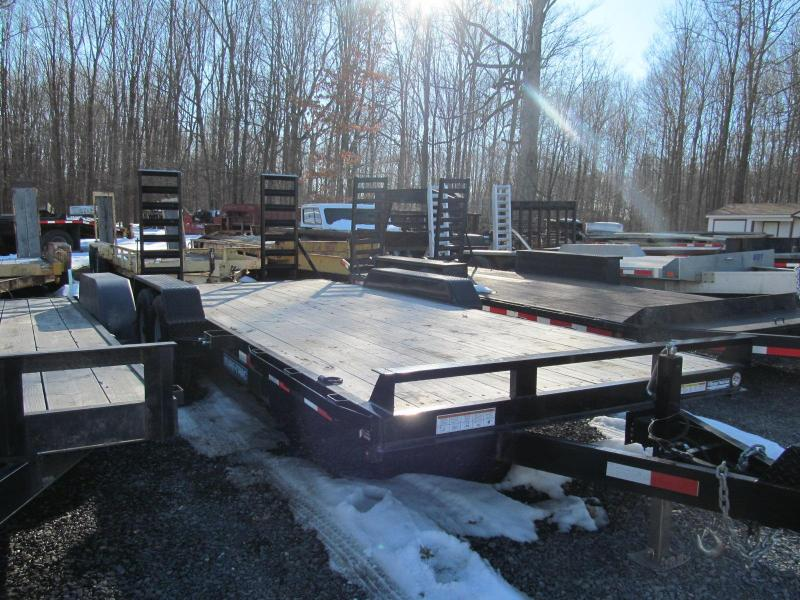 2016 Sure-Trac 7 x 20 Implement Equipment Trailer