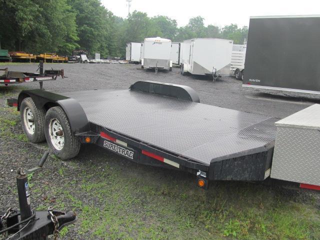 2009 Sure-Trac 82 X 16 Open Car Hauler