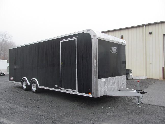 2019 Aluminum Trailer Company 8.5 X 24 Raven CH Plus w/ Premium Escape Door