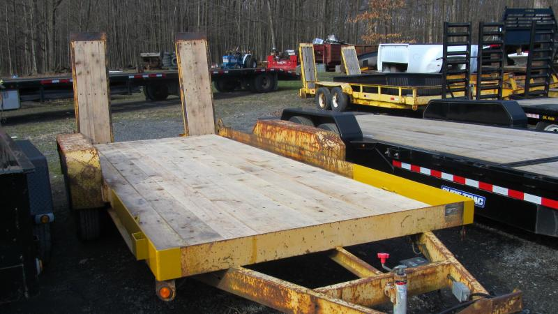 2002 Other Evaco Superline 4 Ton Equipment Trailer
