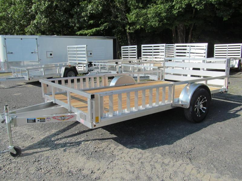 2019 H and H Trailer 7 X 12 ATV Utility Trailer