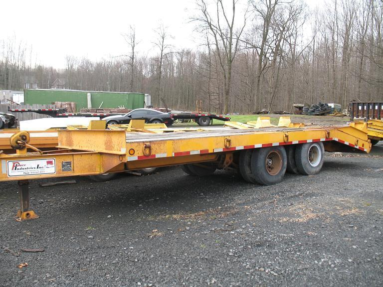 1986 Pace  20 Ton Equipment Trailer