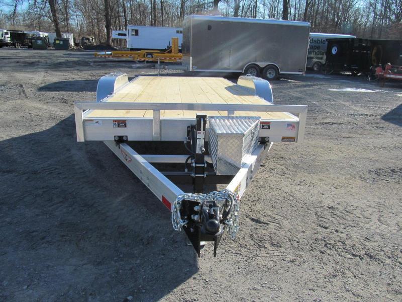 2019 H and H Aluminum Speedloader 80 X 22 Equipment Trailer