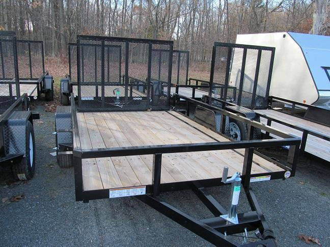 Sure-Trac 6 X 12 Tube Top Utility Trailer