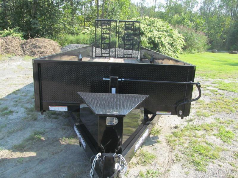 Sure-Trac 7 X 22 Closed Side Equipment Trailer