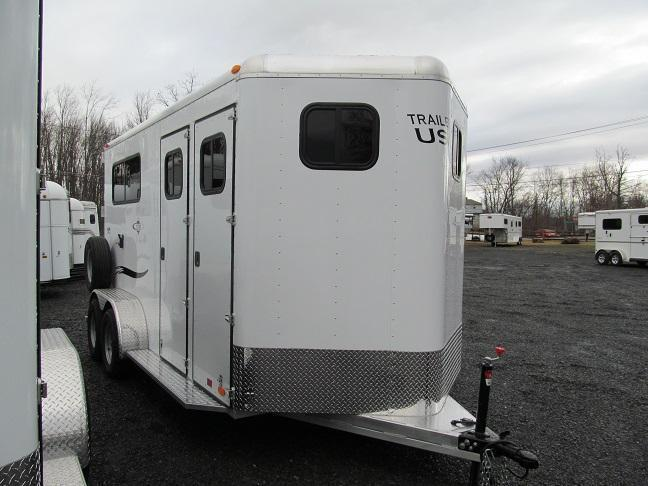 2019 Trailers USA Patriot 2HBP w/ DR