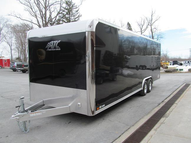 Aluminum Trailer Company Raven All Aluminum PLUS Car / Racing Trailer