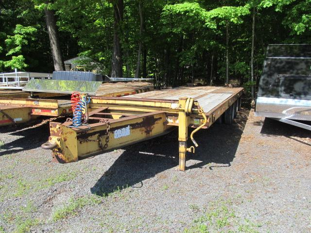 2001 Heavy Hauler Trailers 25 Ton Equipment Trailer