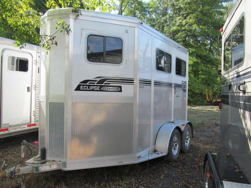 2012 Eclipse Aluminum Trailers 2 Horse Straight Load Horse Trailer