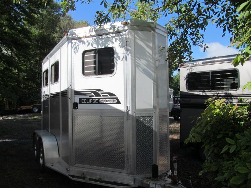 2012 Eclipse Aluminum Trailers 2 Horse Straight Load Horse Trailer