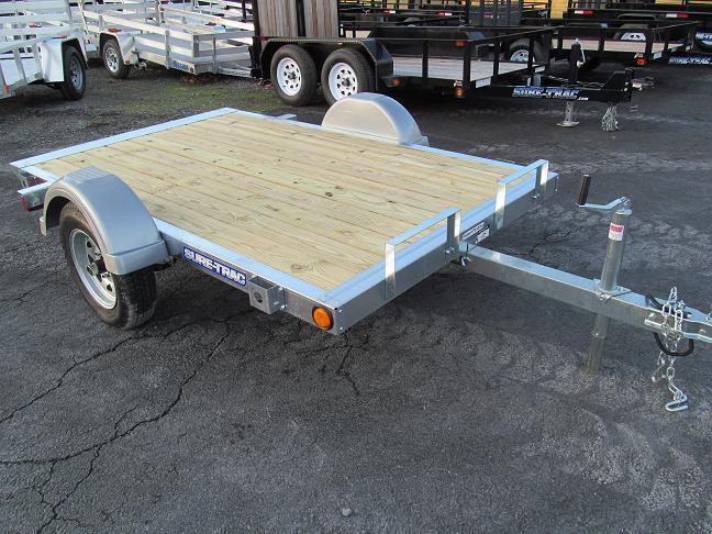 Sure-Trac Galvanized Homeowner Tilt Bed Utility Trailer