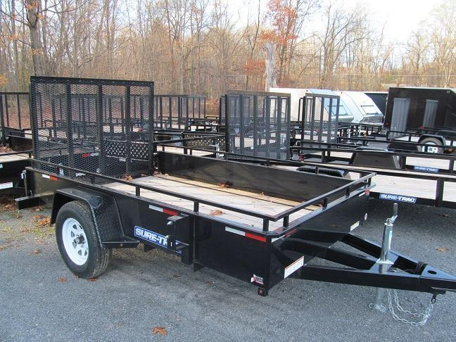 Sure-Trac 6 X 10 Steel High Side Utility Trailer