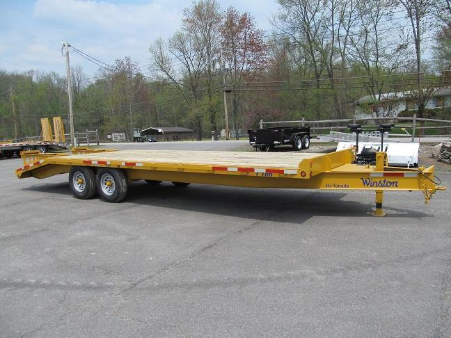 Winston 7 Ton Deckover Equipment Trailers