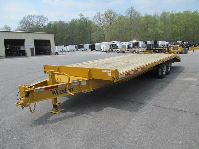 Winston 7 Ton Deckover Equipment Trailers