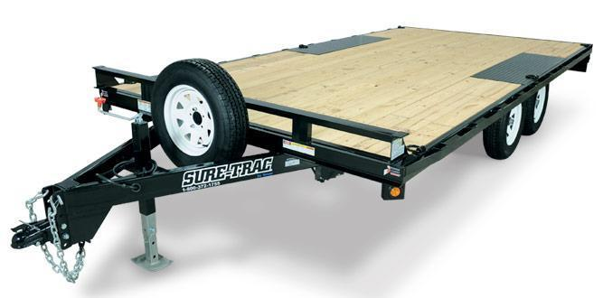 Sure-Trac Low Profile Deckover Utility Trailer