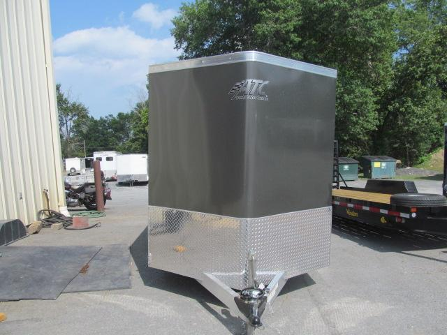 2020 Aluminum Trailer Company 6 X 12 Wedge Front All Aluminum Enclosed Cargo Trailer