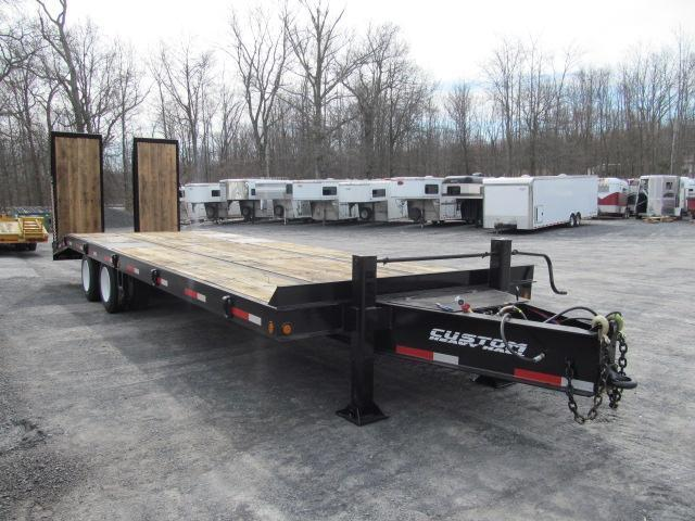 Custom Heavy Haul- 20 Ton Paver w/ Air Ramps