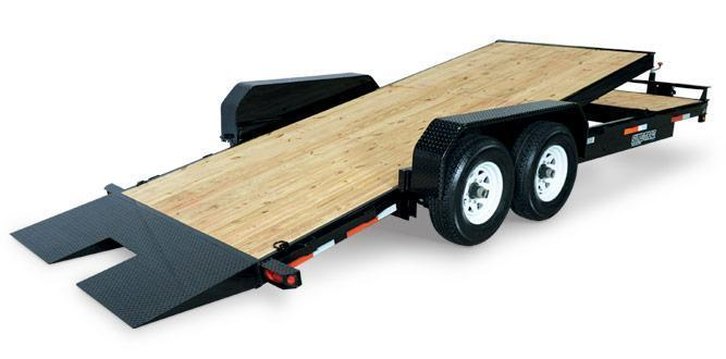 Sure-Trac Tilt Bed Equipment Trailers