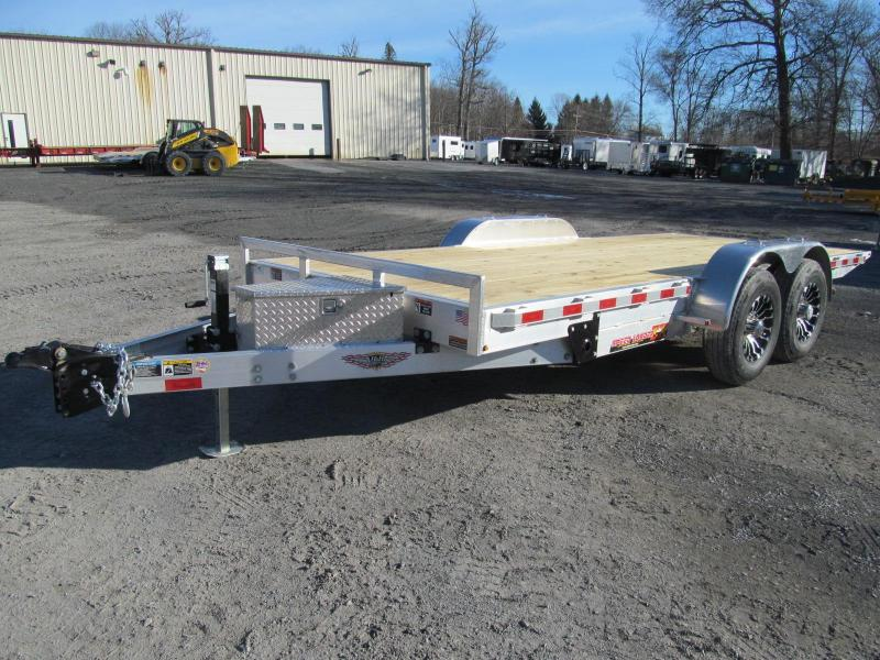 2019 H and H Aluminum Speedloader 80 X 18 Equipment Trailer