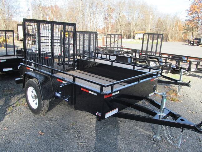 Sure-Trac 5 X 8 Steel High Side Utility Trailer