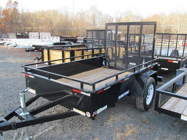Sure-Trac 5 X 8 Steel High Side Utility Trailer