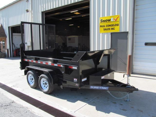 2019 Sure-Trac 6 x 10 Low Profile Dump w/ Landscape Gate