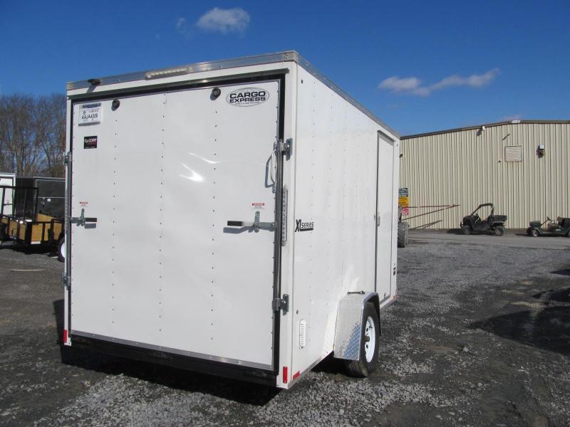 2018 Cargo Express 7 x 12 Single Axle Enclosed Cargo Trailer
